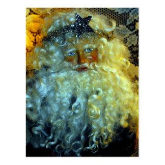 Santa's Face Postcard