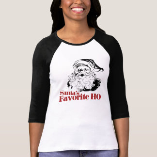 Santas Favorite HO Women Tee Shirts