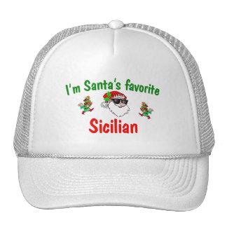 Santa's Favorite Sicilian Trucker Hat