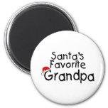 Santas Favourite Grandpa Fridge Magnet