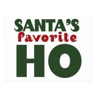Santas Favourite HO Postcard