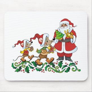 Santas Gift Mouse Pad
