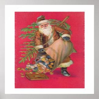 Santa's Goodies Poster