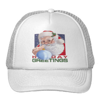 Santa's Greetings - Hat