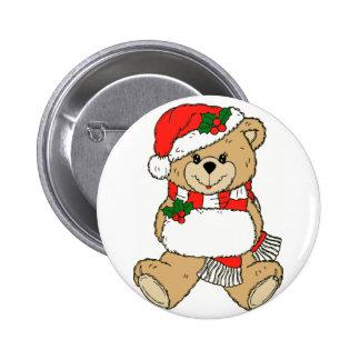 Santa's Helper 6 Cm Round Badge