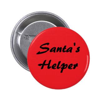 """Santa's Helper"" Button"