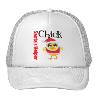Santa's Helper Chick Hat