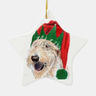 Santa's Helper Christmas Ornament