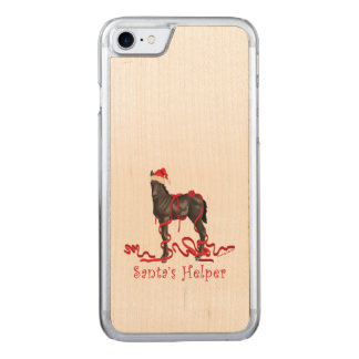 Santa's Helper Horse Colt Carved iPhone 8/7 Case
