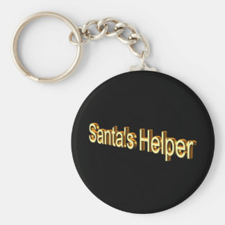 Santa's Helper Key Chain