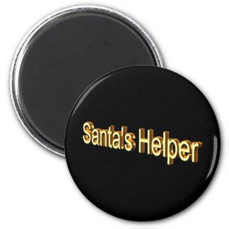 Santa's Helper Fridge Magnets