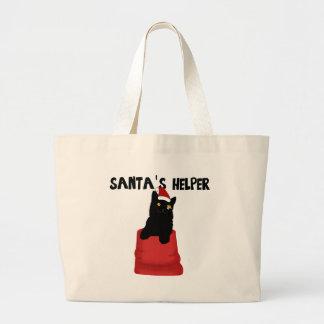 Santa's Helper Jumbo Tote Bag