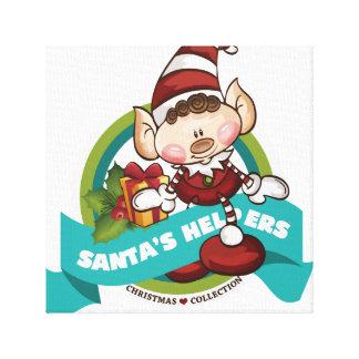 Santa's Helpers - Collection Canvas Canvas Print