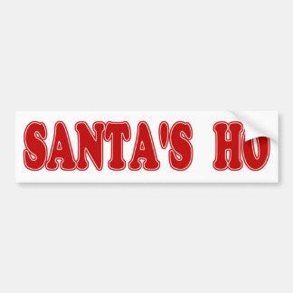 Santa's Ho Bumper Sticker