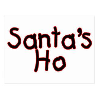Santas Ho Postcard