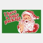 Santas Huge Package
