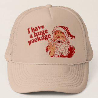 Santas Huge Package Trucker Hat