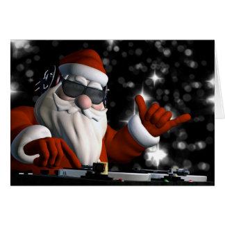 Santa's In Da House Greeting Card