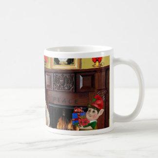 Santa's Japanese Chin Coffee Mug