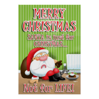Santa's Just for Christmas Posters