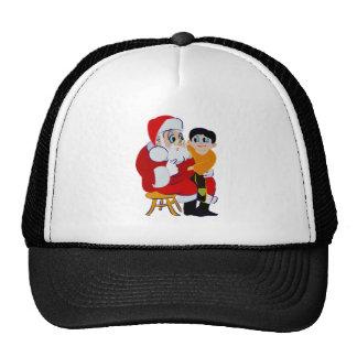 Santa's Lap Trucker Hat