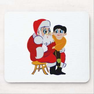 Santa's Lap Mouse Pad