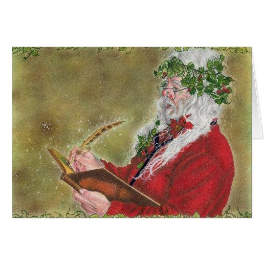 Santa's List Card