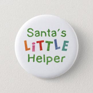 Santa's Little Helper 6 Cm Round Badge