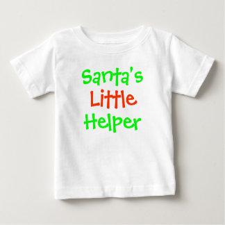 Santa's Little Helper Baby T-Shirt