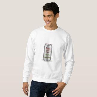 Santa's Little Helper Beer Can Sweatshirt