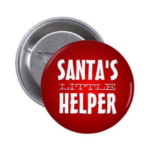 """Santa's """"LIttle"""" Helper Button"""