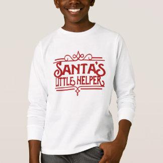 Santa's Little Helper Kids Long Sleeved T-Shirt