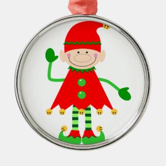Santa's Little Helper Ornament. Christmas Ornament
