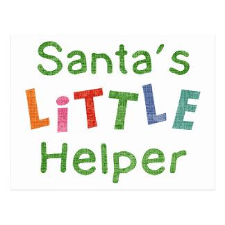 Santa's Little Helper Post Cards