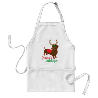 santas little helper standard apron