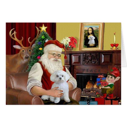 Santa's Maltese Card