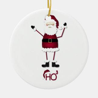 Santa's Math Christmas Ornament