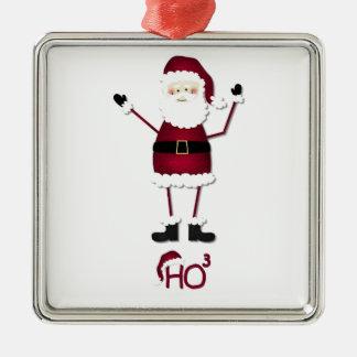 Santa's Math Ornament