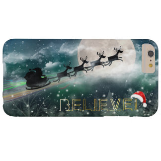 Santa's Midnight Ride Christmas iPhone 6/Plus Case