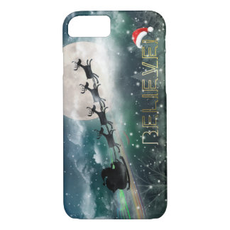 Santa's Midnight Ride Christmas iPhone 7/Plus Case
