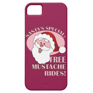 Santa's Mustache Rides iPhone case