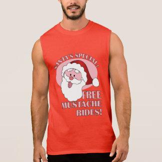 Santa's Mustache Rides shirts & jackets