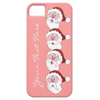 Santa's Mustaches custom color iPhone case