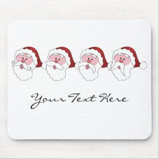 Santa's Mustaches custom mousepad