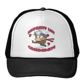 santas naughty list candidate cartoon hats