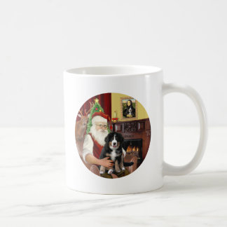 Santas new- Bernese Mountain Dog Puppy (L) Coffee Mug