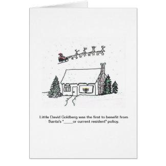 Santa's New Policy Brings Unexpected Joy Card