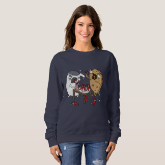 Santa's Nightmares | Funny Comic Christmas Jumper Sweatshirt