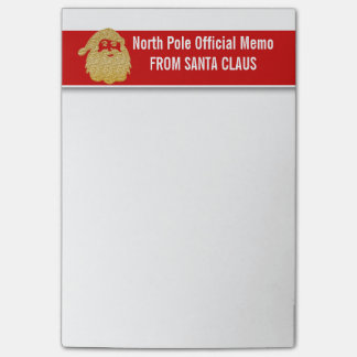 Santas official north pole note books post-it® notes