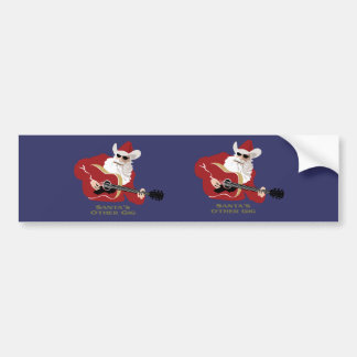 Santa's Other Gig Bumper Stickers